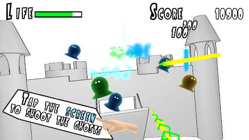 Shoot the Ghosts 3D Free