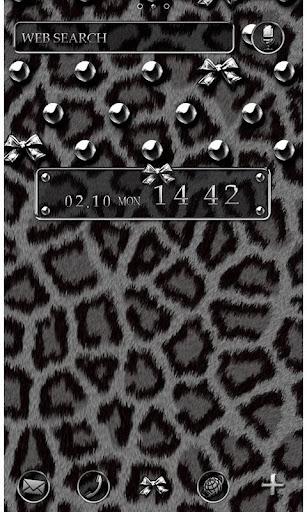 銀色豹紋 for[+]HOME