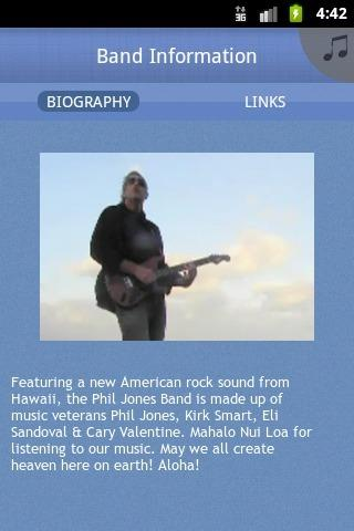 Phil Jones Band - screenshot
