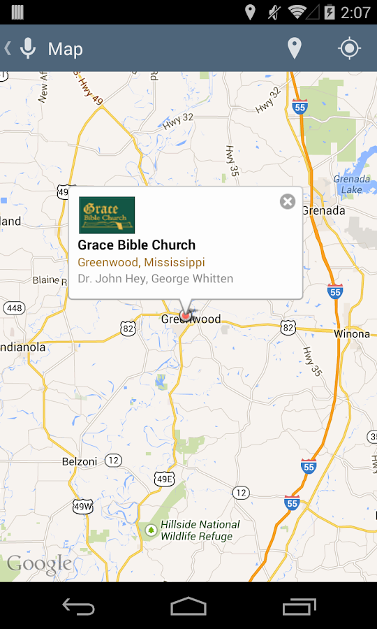 Grace Bible Church- screenshot