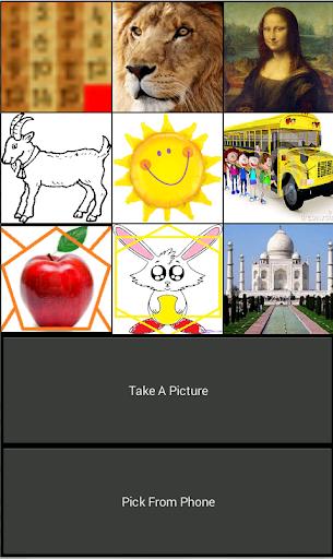 Arrange Puzzle Number Pic