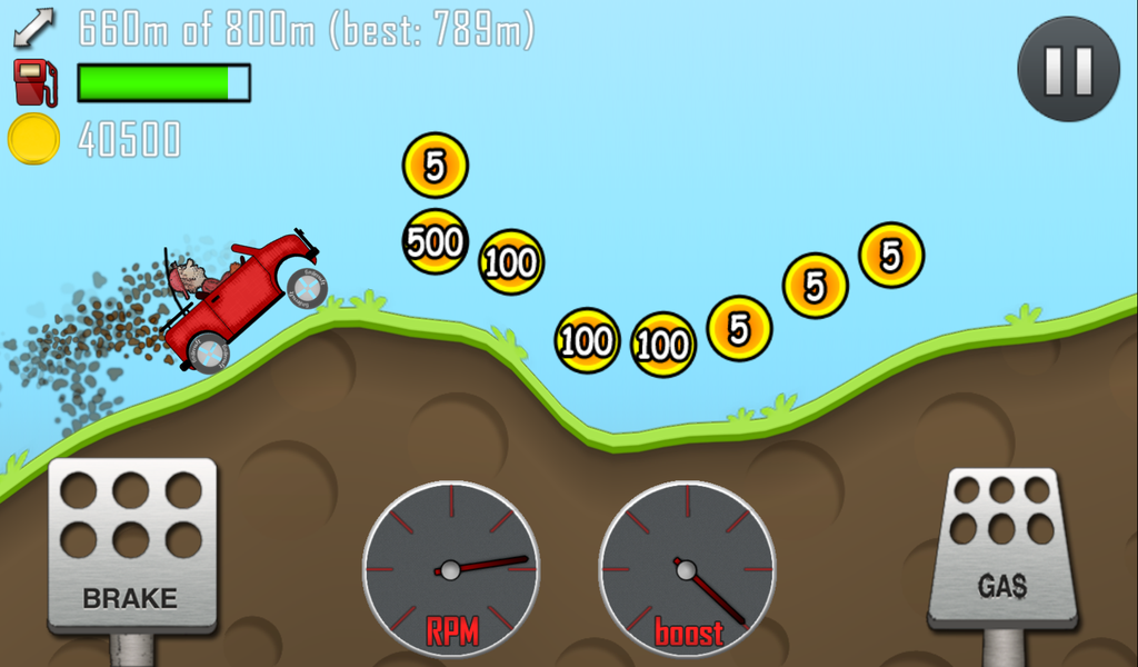 how to change the chassis in hill climb racing