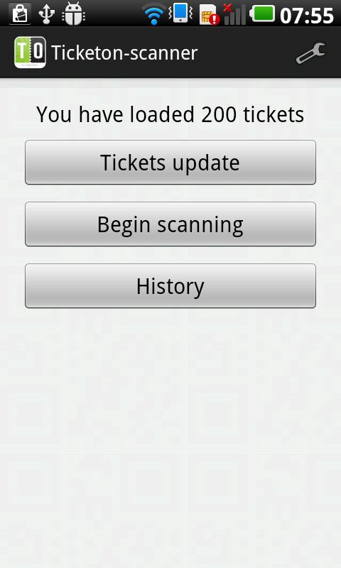 Ticketon Entry Manager- screenshot