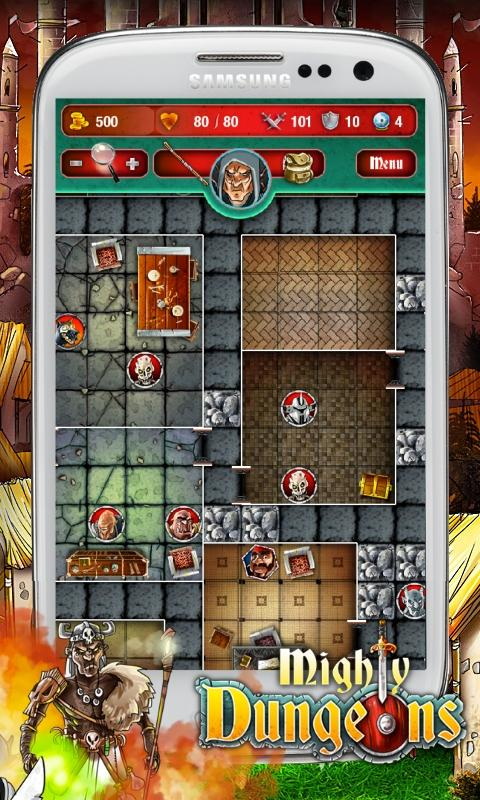 Mighty Dungeons Demo - screenshot