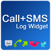 Call + SMS Log Widget