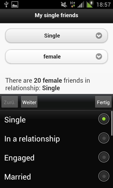 My single friends - screenshot