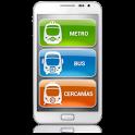 key-Madrid Metro|Bus|Cercanias icon