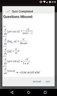 Derivative and Integral Rules- screenshot thumbnail