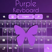 Keyboard Free Purple