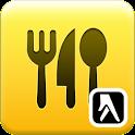 Kde jesť a piť – Slovenská rep logo