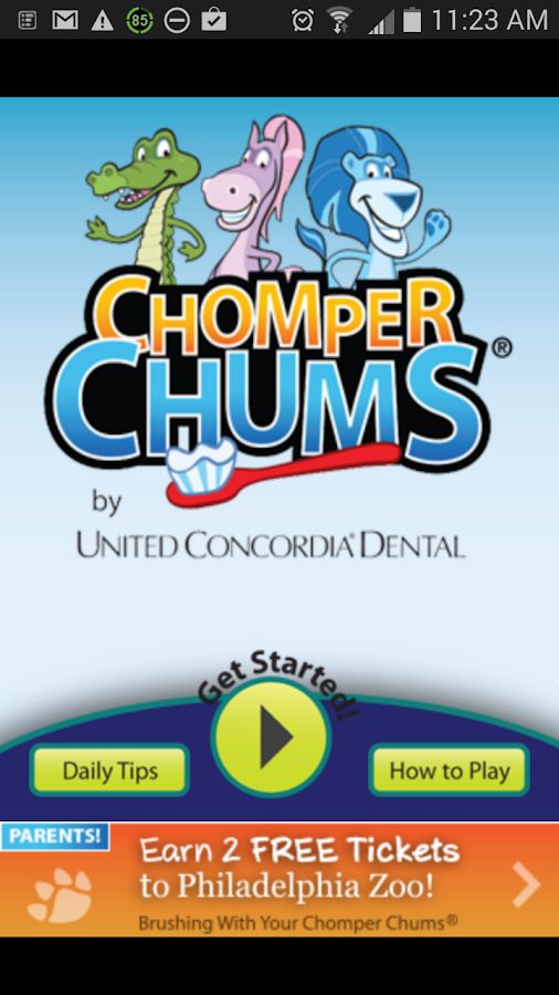 Chomper Chums® - screenshot
