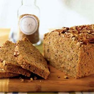 Zucchini-Pecan Flaxseed Bread