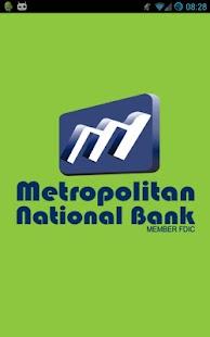 Metropolitan National Bank- screenshot thumbnail