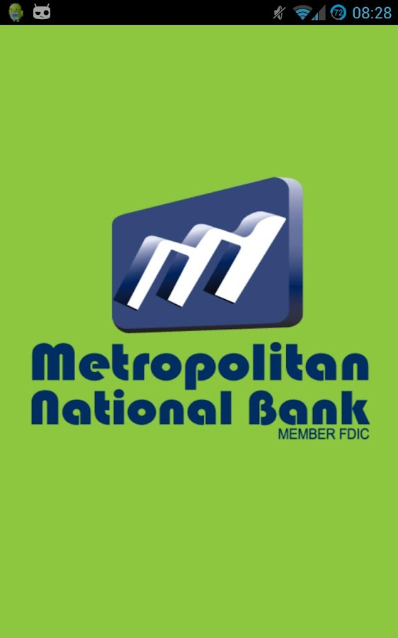 Metropolitan National Bank - screenshot