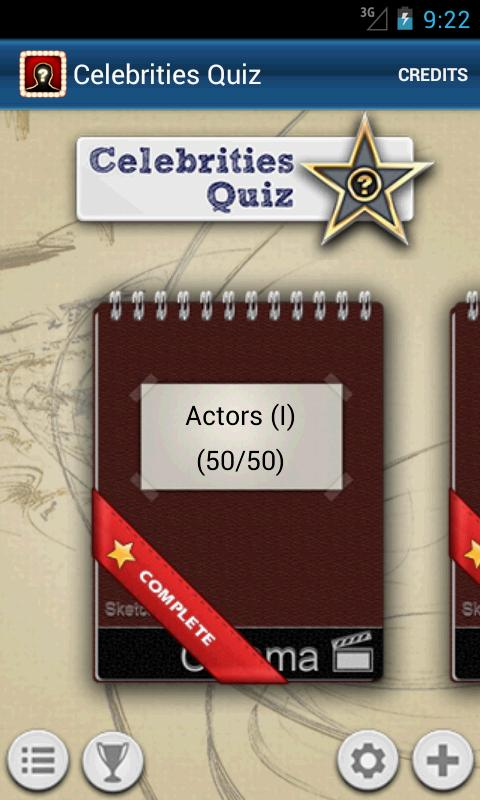 Celebrities Quiz- screenshot