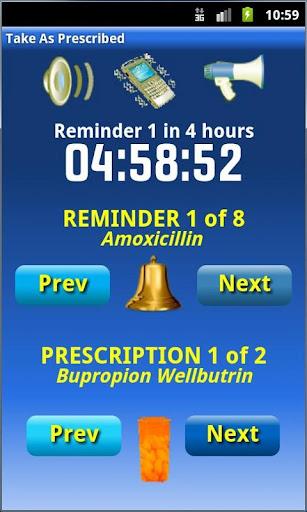 Take As Prescribed