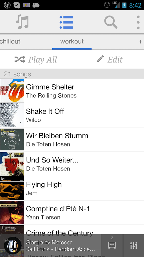 OnAir Player - screenshot