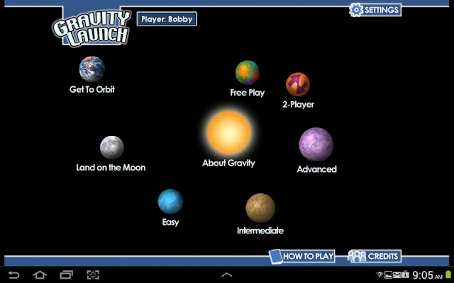 Gravity Launch - screenshot