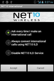 Net10 International Calls - screenshot thumbnail