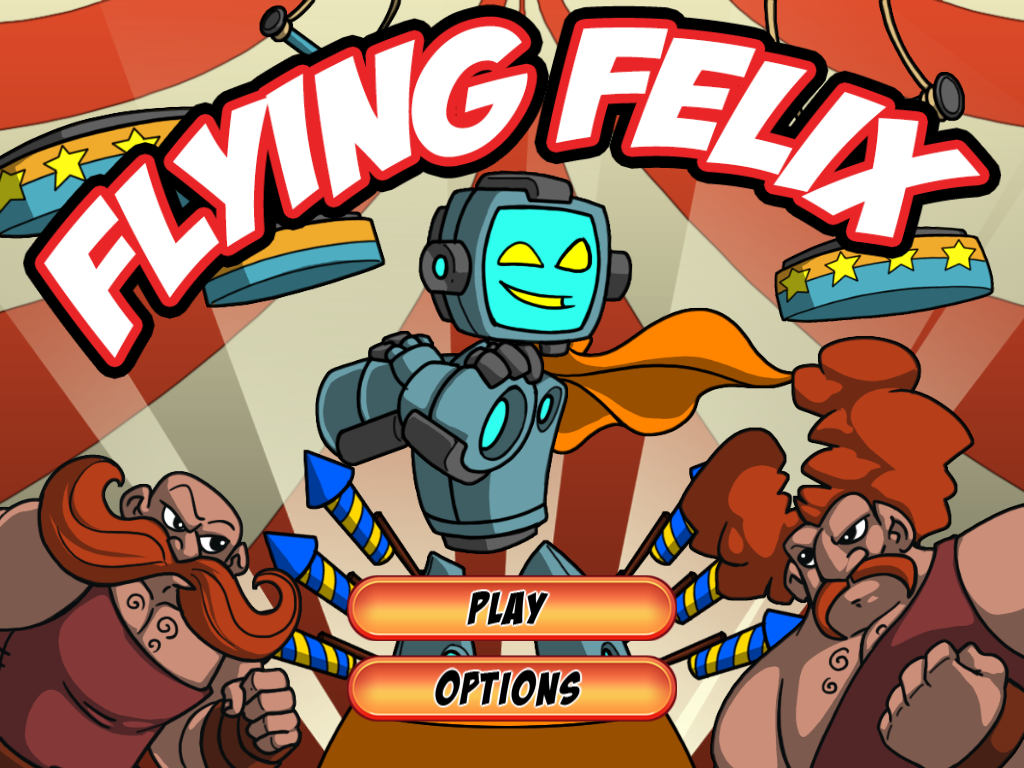 Flying Felix- screenshot