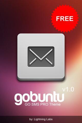 gobuntu GO SMS Pro Theme
