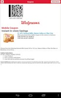 Screenshot of Walgreens for Nexus 7