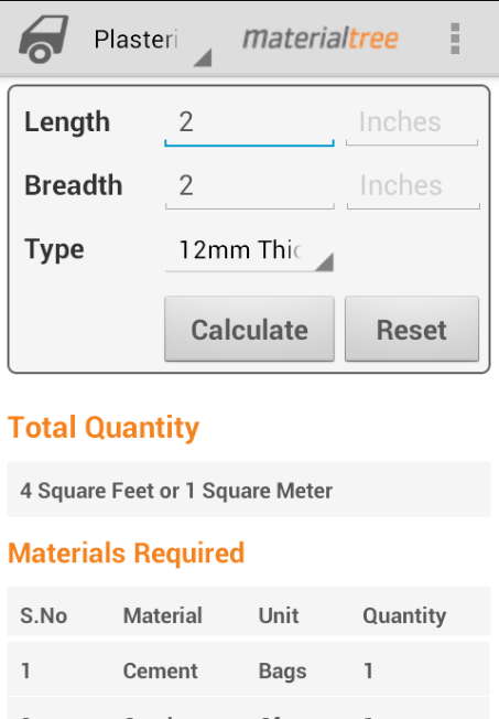 Building Materials Calculators Android Apps On Google Play