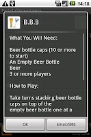 Screenshot of Party & Drinking Games
