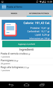 Diario Alimentare- screenshot thumbnail