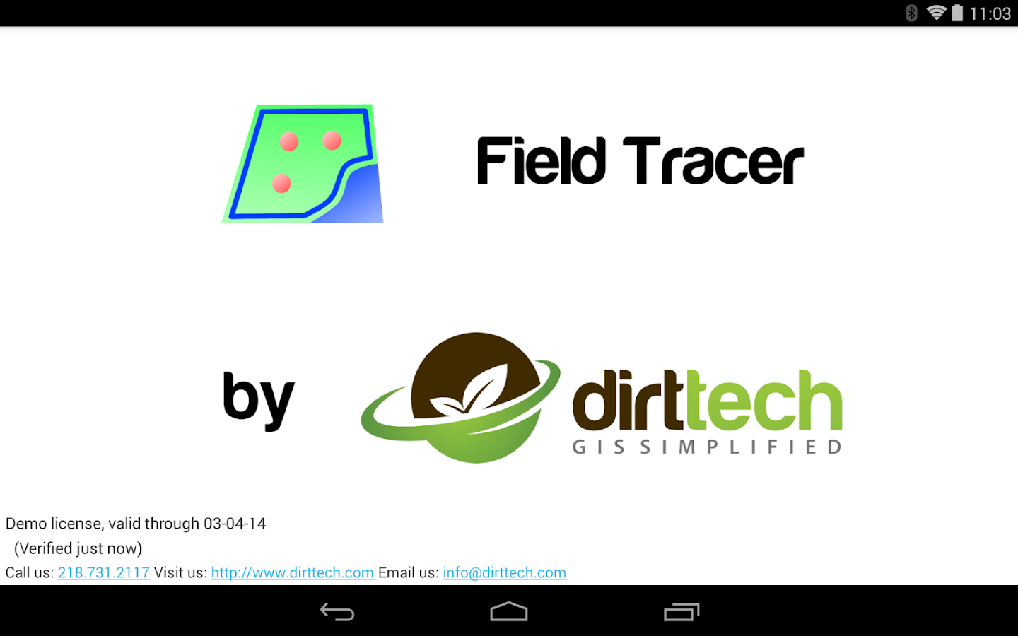 Field Tracer - screenshot