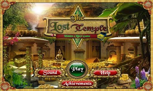 Lost Temple Free Hidden Object