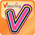 ViewRing(video multi-coloring) logo