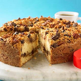 Chocolate-Pecan Coffee Cake.