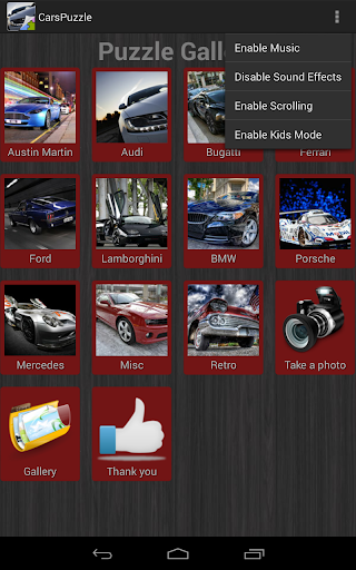 汽车拼图 玩解謎App免費 玩APPs
