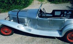 A coachbuilt vintage Lagonda