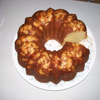 Eggnog Bundt Cake.
