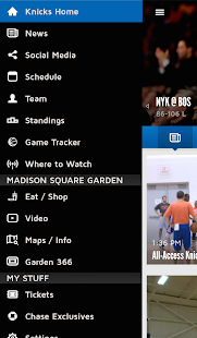 Official New York Knicks App- screenshot thumbnail