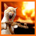 Machine gun kitty logo