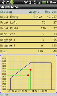 CFI Tools Weight and Balance- screenshot thumbnail