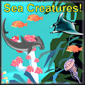 Sea Creatures Voice Flashcards logo