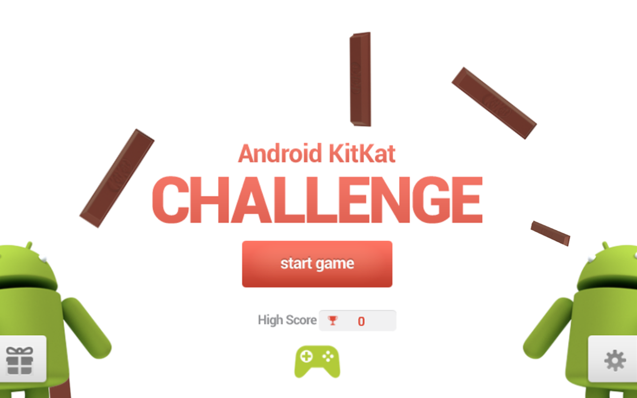 Android KitKat Challenge - screenshot