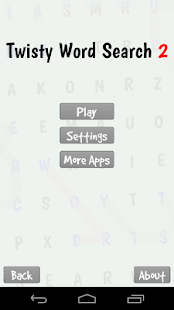 Twisty Word Search Puzzle 2- screenshot thumbnail