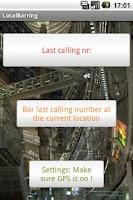 Screenshot of Blocking Phone Numbers