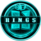 Next Launcher 3D RingsC Theme icon