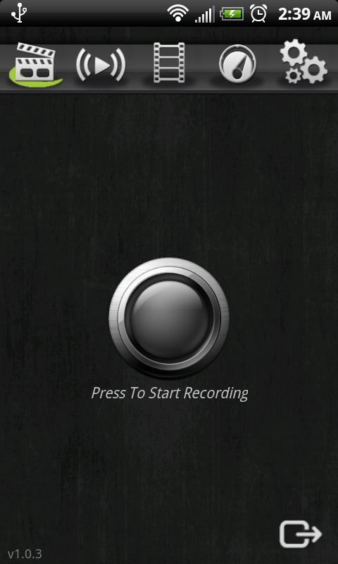 Screencast Video Recorder Demo - screenshot