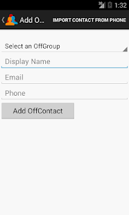 Off Contacts- screenshot thumbnail