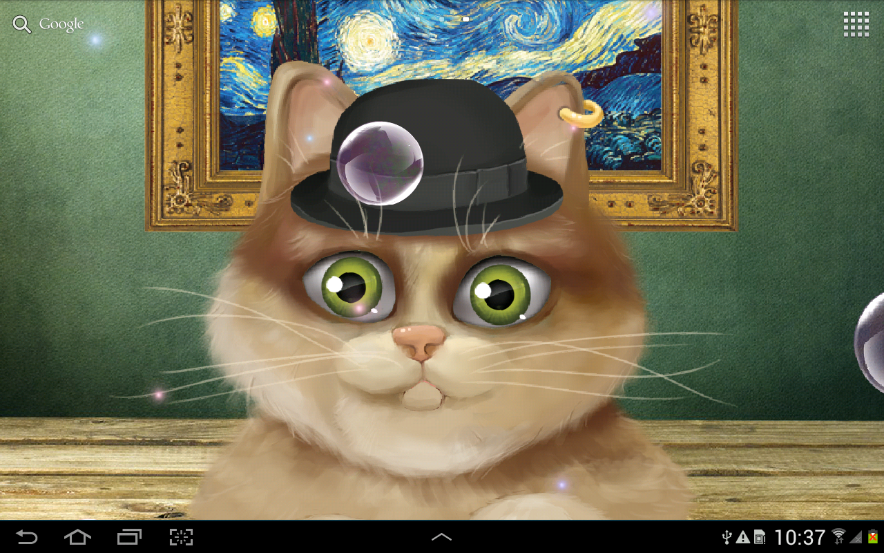 animated kitten live wallpaper android apps on google play
