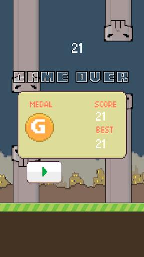 【免費街機App】ZombieBird!-APP點子