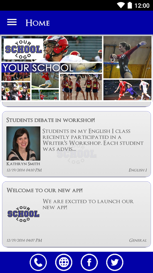 School Info- screenshot