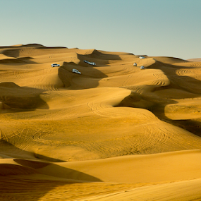 Original Dubai by Ajay Sood - Landscapes Deserts ( sanddune, sand, dunes, desert, dubai, sanddunes, safari, uae, desertsafari, dune, desertscape )